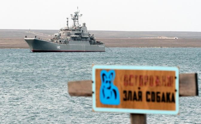В Керченском проливе