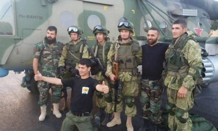 Вагнеровцы в Сирии