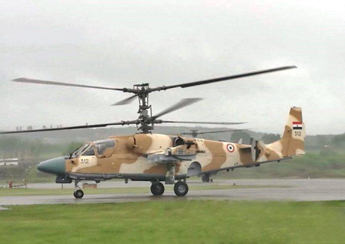 Вертолет египетских ВВС