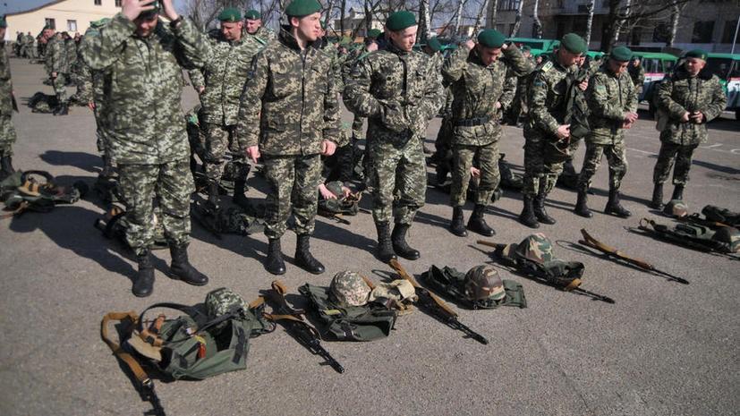 Военнослужащие готовятся к отправке
