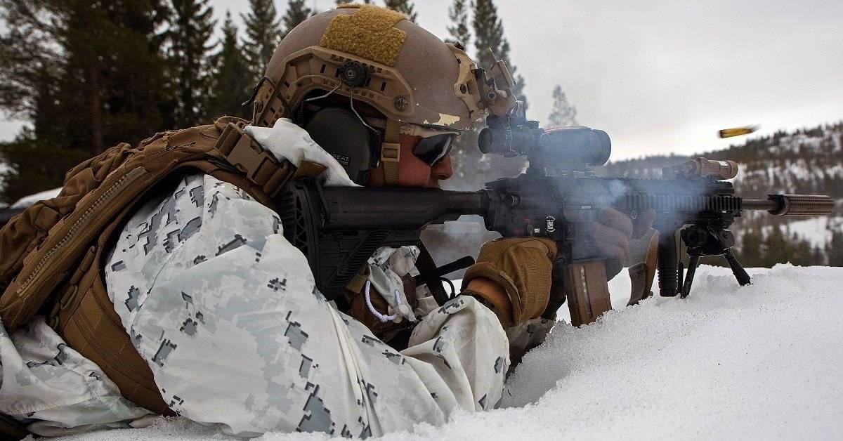 Военные действия зимой