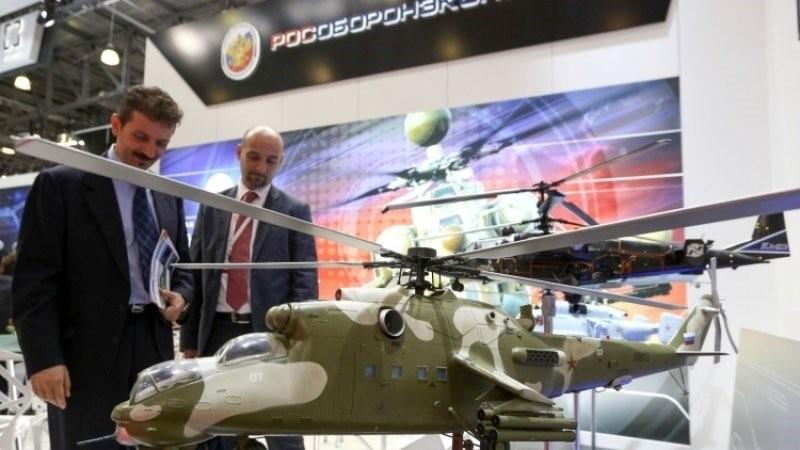 Выставочный макет вертолета