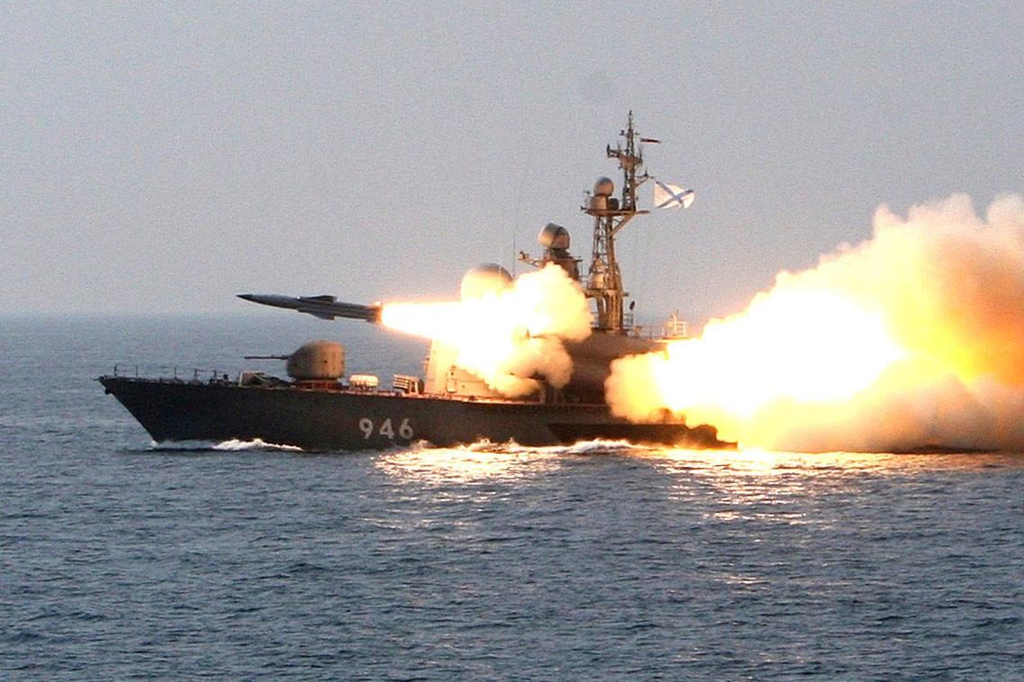 Запуск ракеты «Циркон»