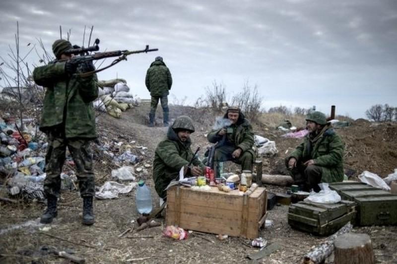 Застолье украинской армии