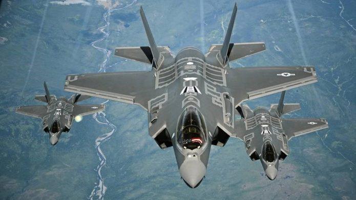 Звено американских F-35