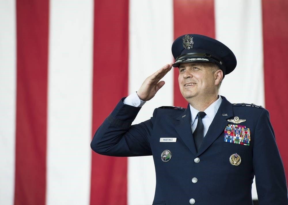 Американский генерал Джерри Мартинеса