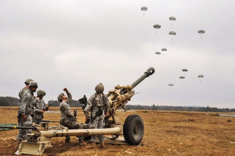Артиллеристы США