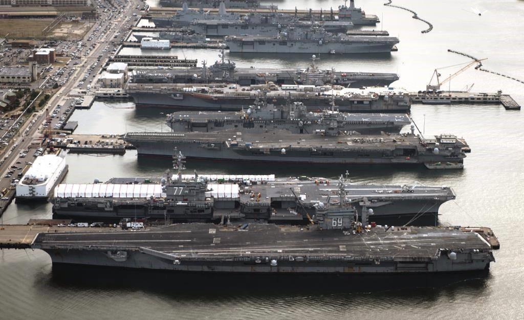 Авианосный флот Америки
