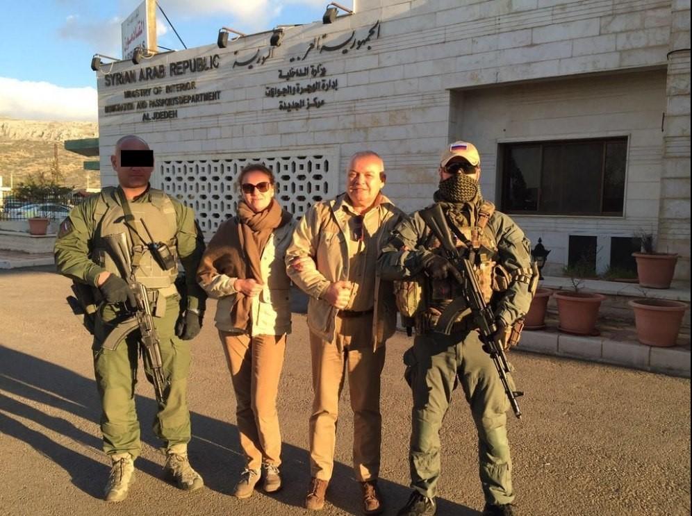 Бойцы секретного российского отряда