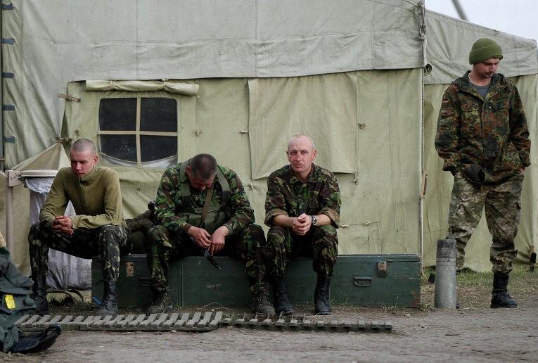 Больные солдаты ВСУ