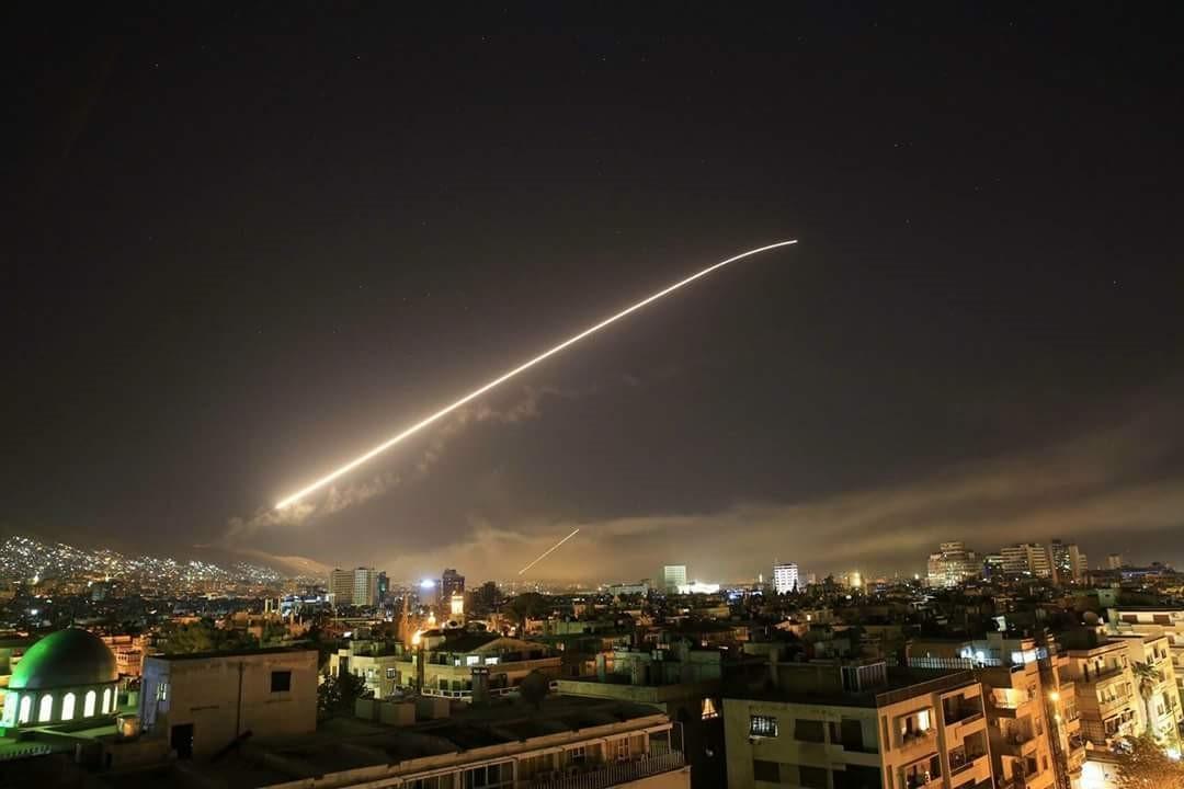 Бомбардировка Дамаска