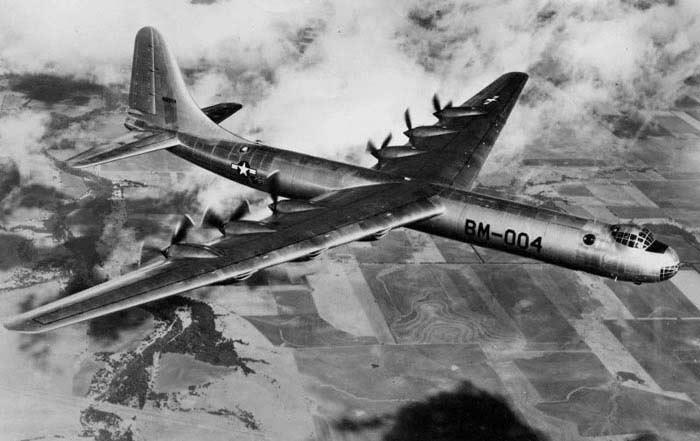Convair B-36 Миротворец