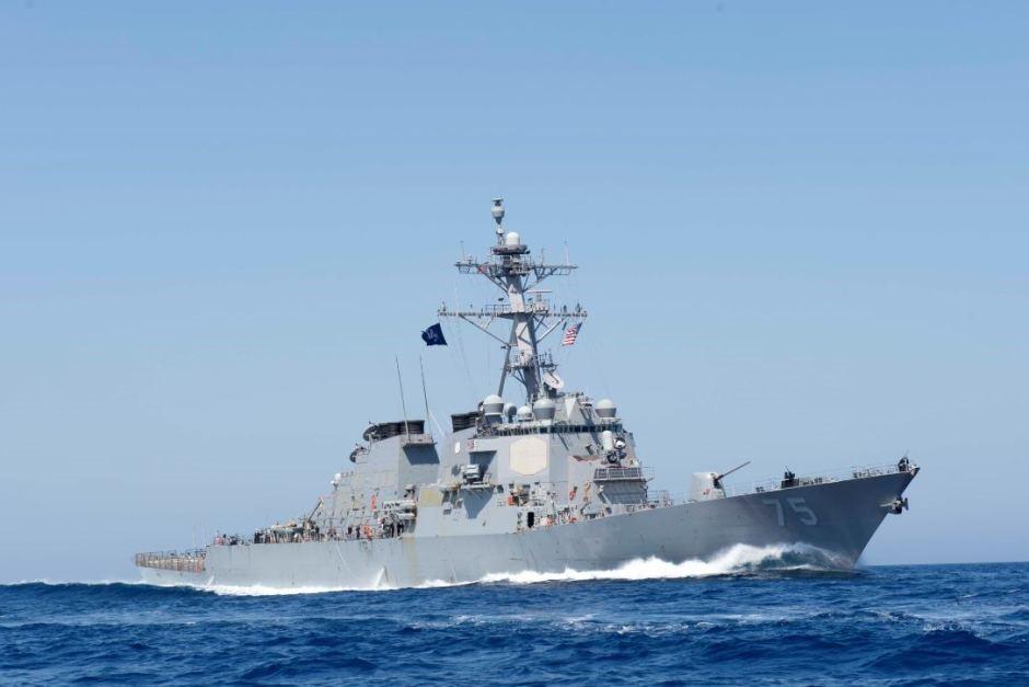 Эсминец американского флота