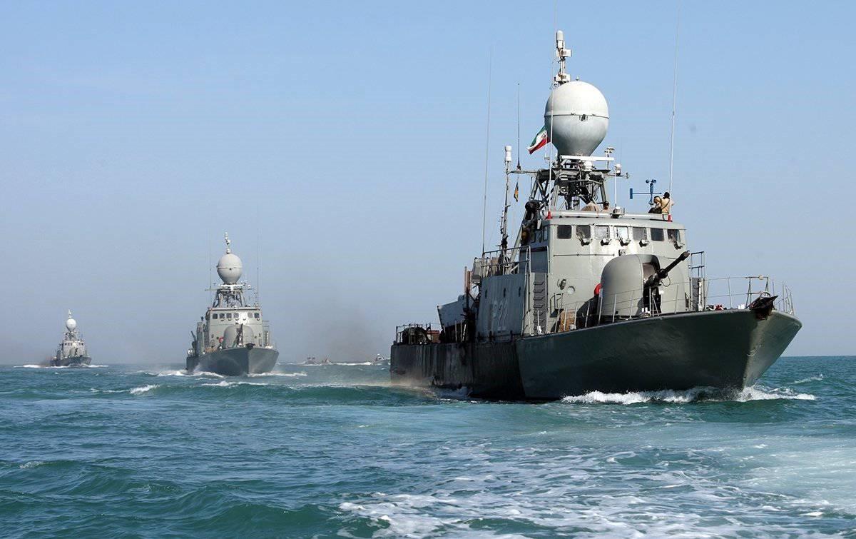 Иранские эсминцы