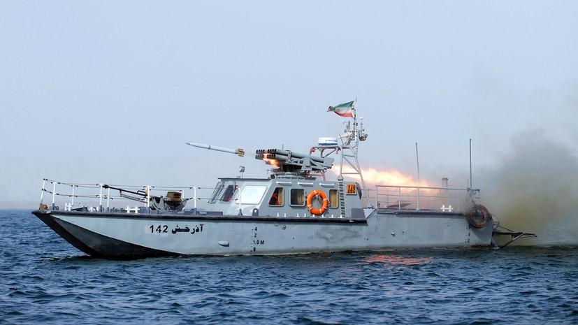Иранский ракетный катер