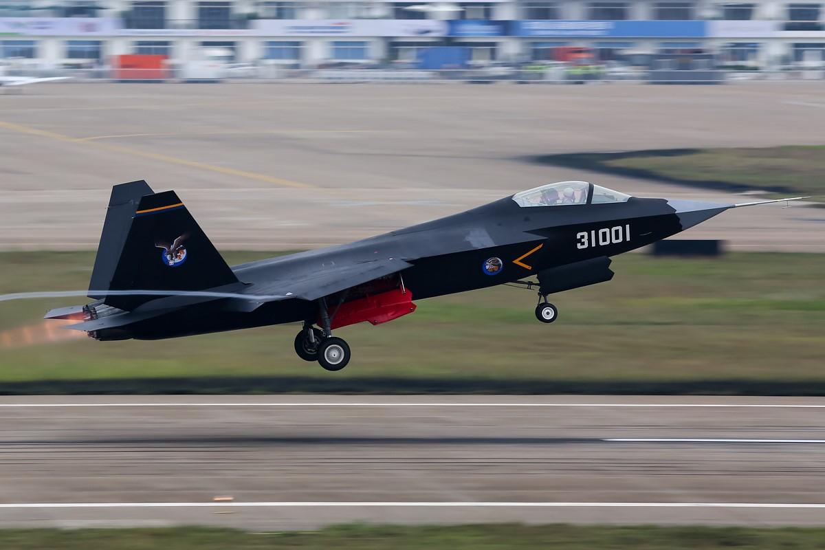 Китайский истребитель Shenyang J-31