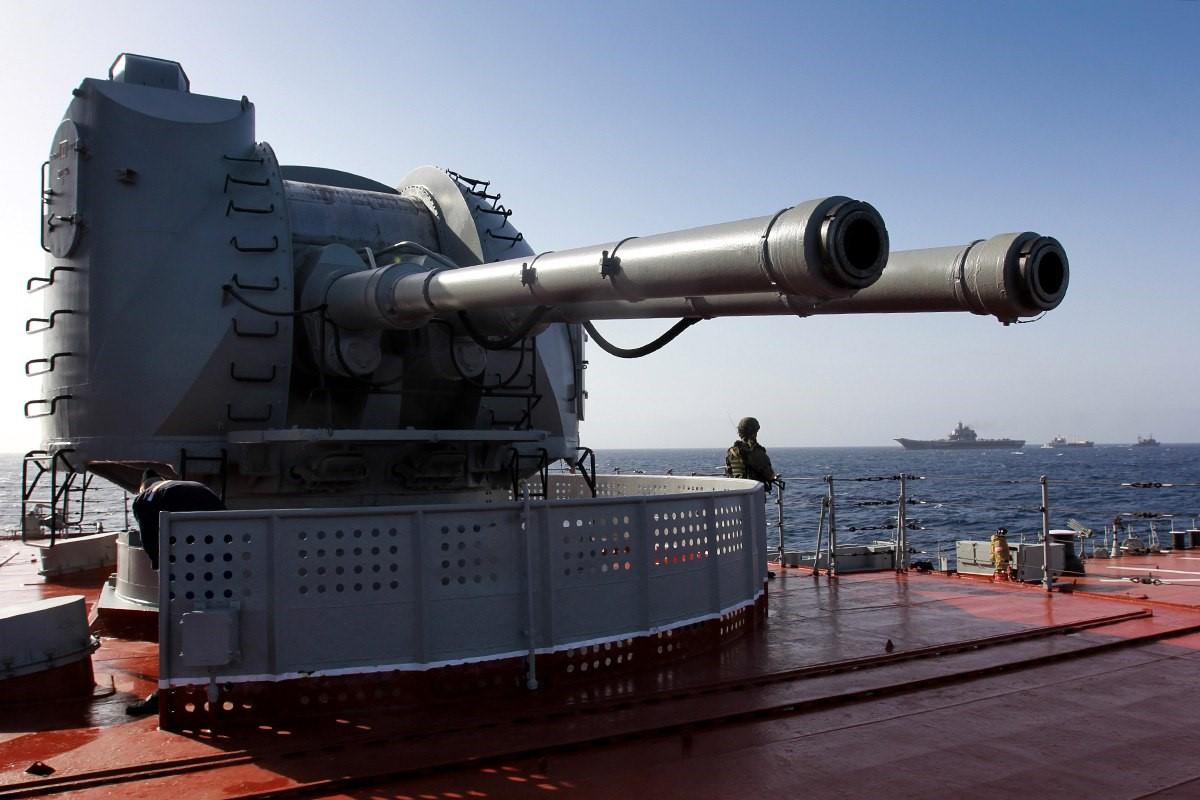 Корабельное орудие АК-130