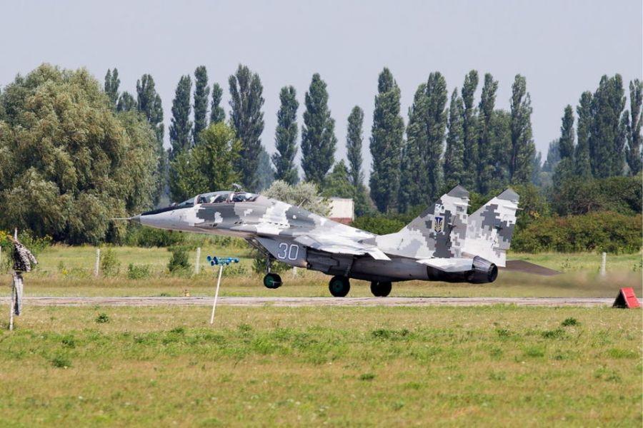 МиГ-28 на украинских полях