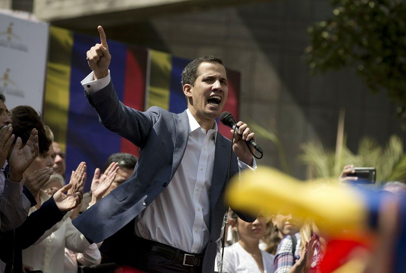 Митинг Хуана Гайдо