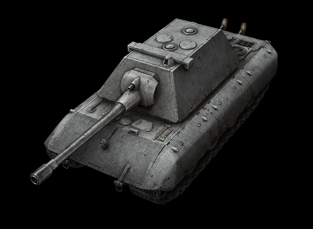 Модель танка E-100