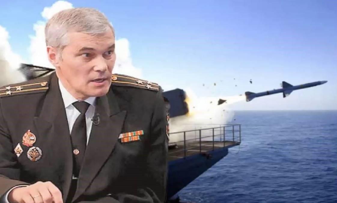 Морской офицер Константин Сивков