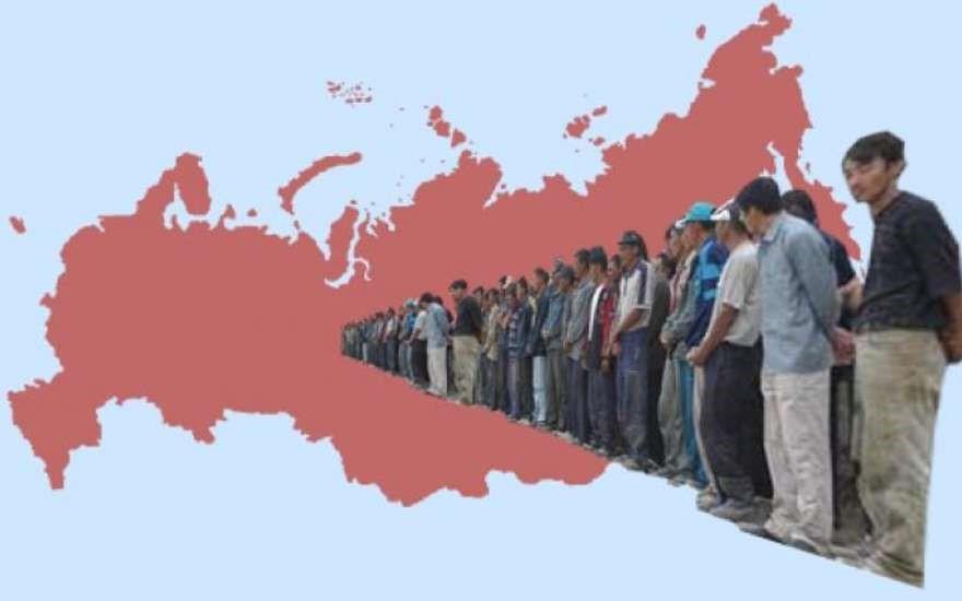Очередь в Россию