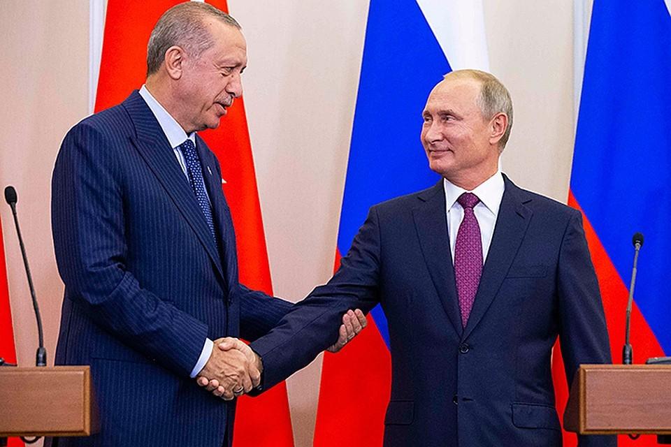 Представители Турции и России