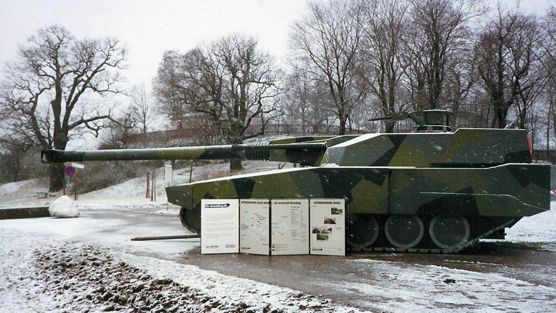 Прототип Stridsvagn-2000