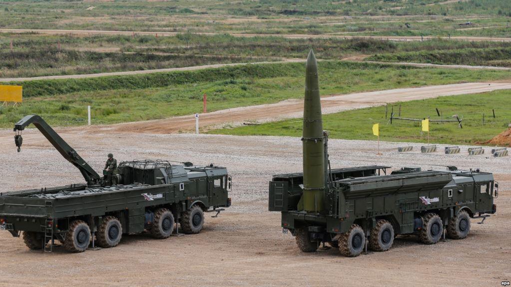Ракетные комплексы комплексы «Искандер-М»
