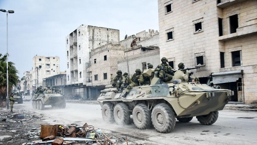 Разрушенный сирийский город
