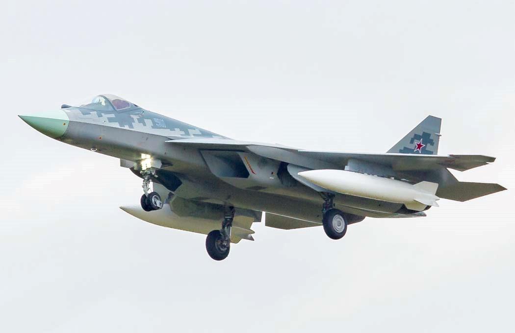 Российский истребитель
