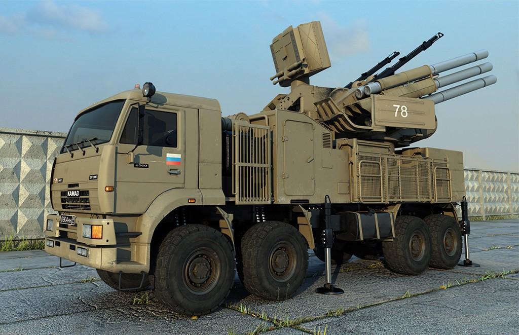 Российский зенитно-ракетный комплекс