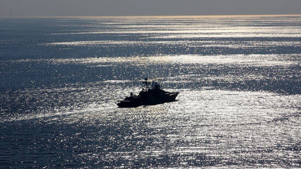 «Североморск» в акватории Черного моря