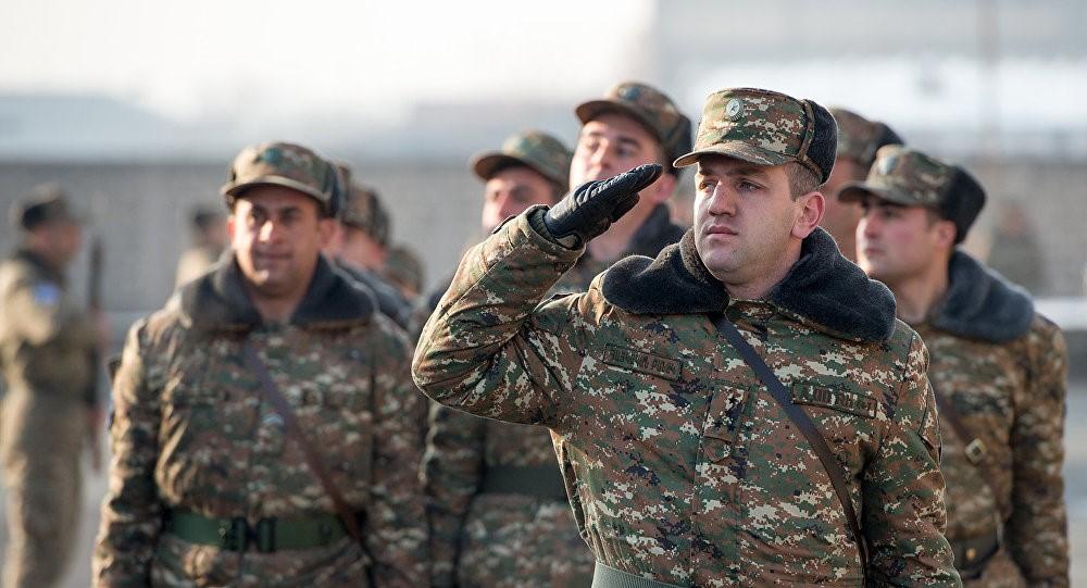 Солдаты Армении