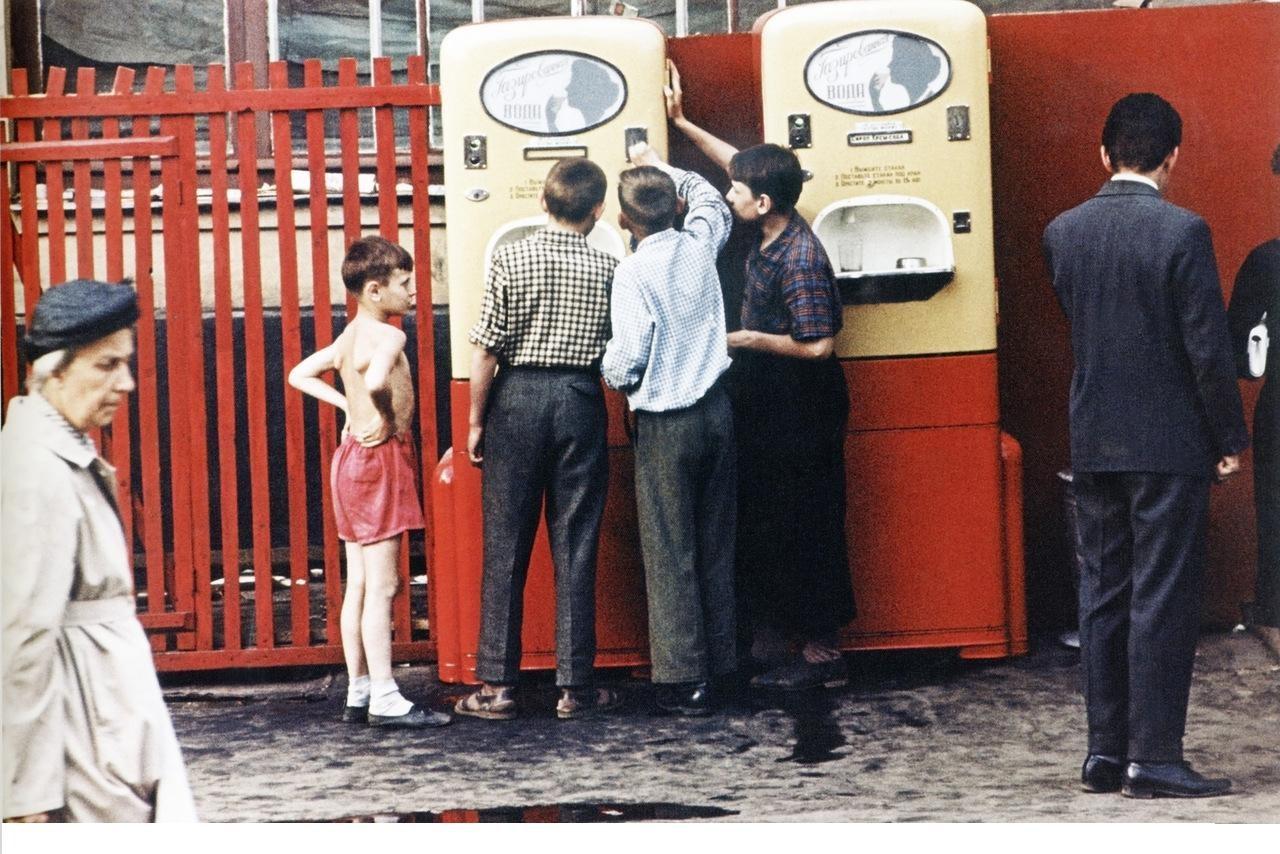 Советский автомат с газировкой
