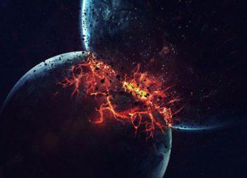 Столкновение Нибиру и Земли