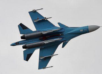 Су-34, вид снизу