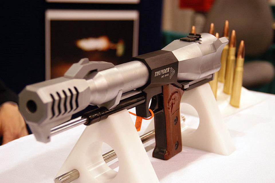 Triple Action Thunder .50 BMG