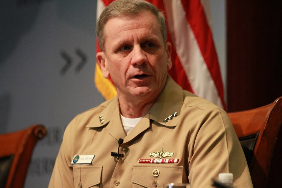 Вице-адмирал США Рич Браун