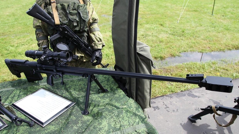 Винтовка для гиперзвуковых патронов