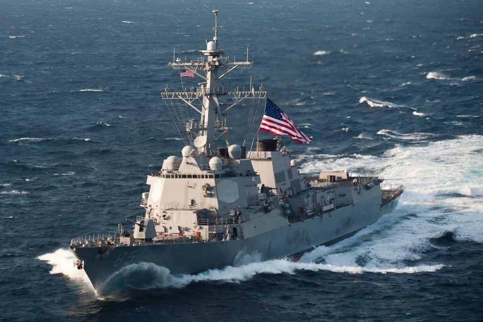 Военный корабль американского флота