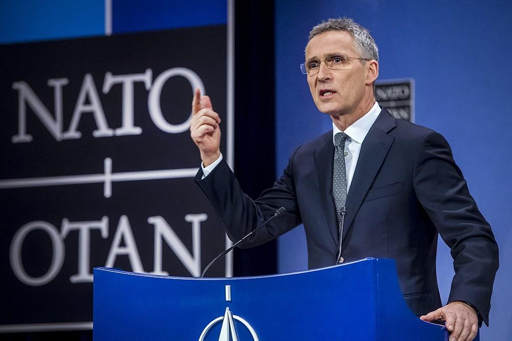 Выступление Генсека НАТО