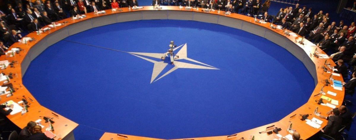 Зал заседаний НАТО