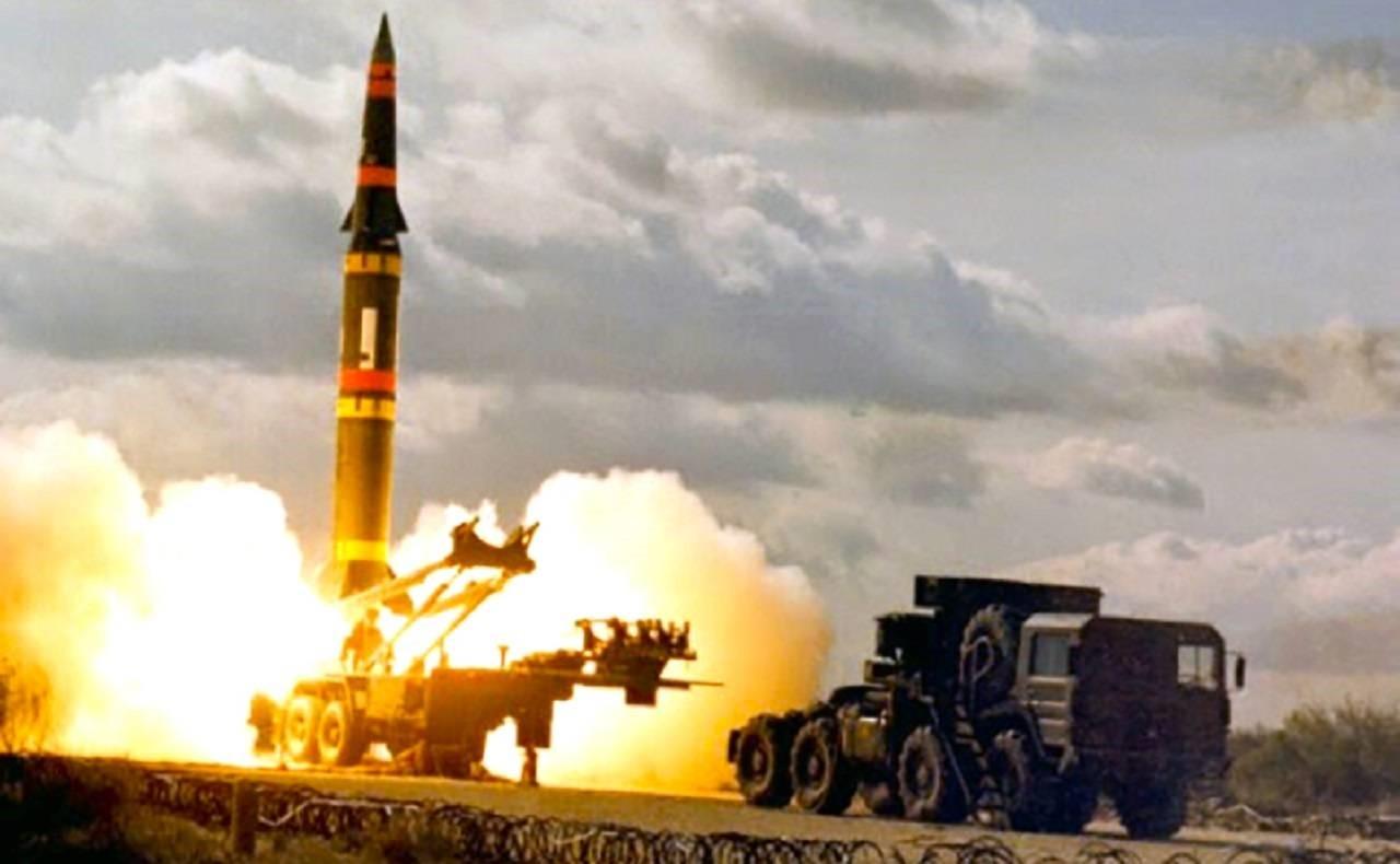Запуск ракеты 9М729