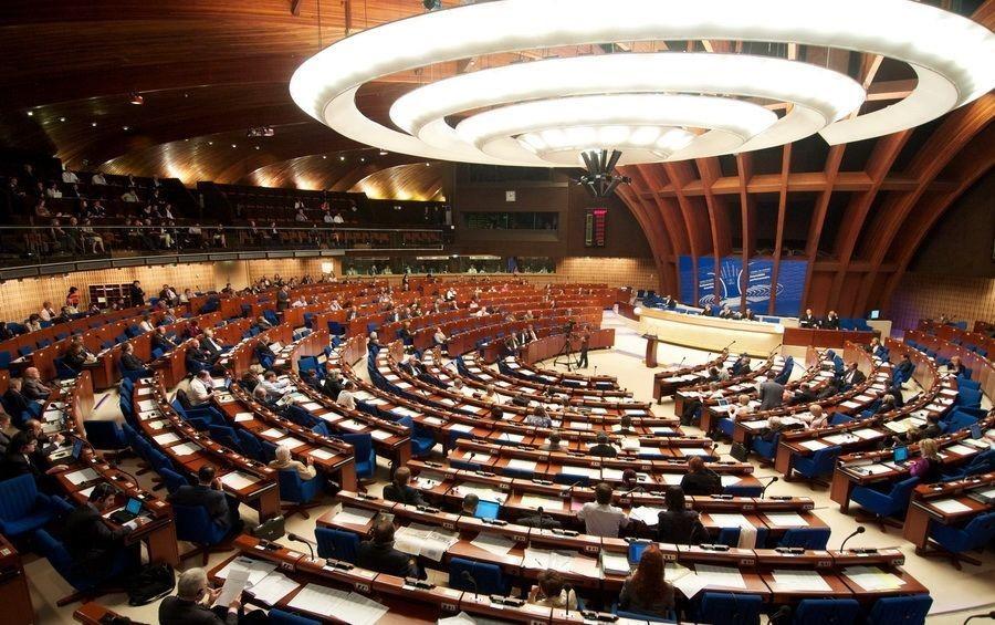 Заседание Ассамблеи Совета Европы