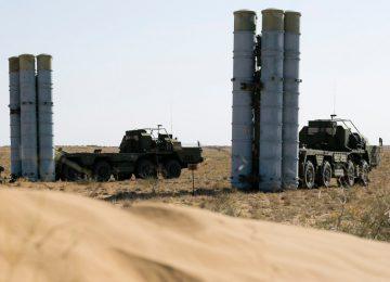 ЗРК С-300 сирийских ПВО