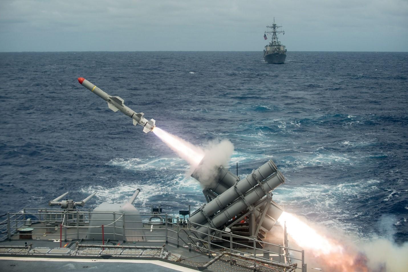 Американская ракета RGM Harpoon