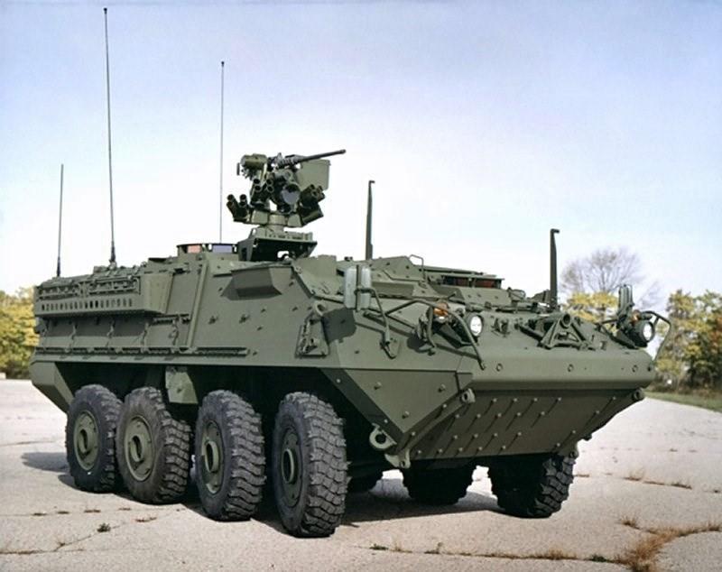 Американский БТР Stryker