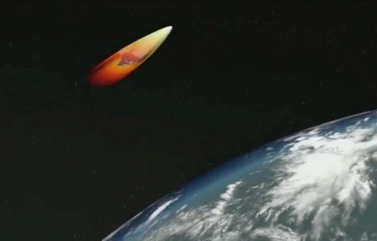 «Авангард» в космосе