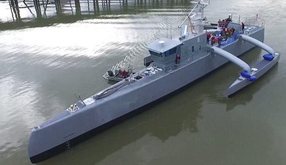 Беспилотник «Морской охотник»